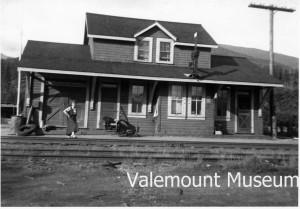 Valemount Train Station